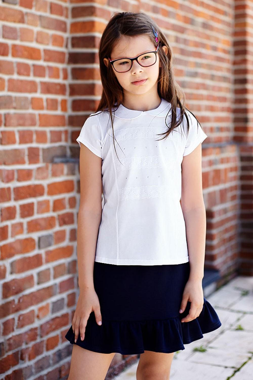 Elegancko-sportowa bluzka z krótkim rękawem Megi