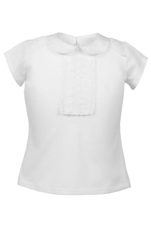 Bawełniana bluzka z kołnierzykiem Tara