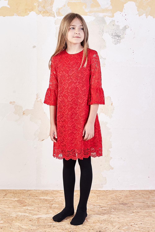 Koronkowa sukienka z rękawem Harriet