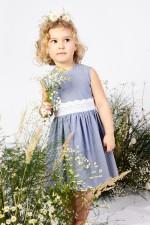 Sukienka w drobne paski na lato Hanna