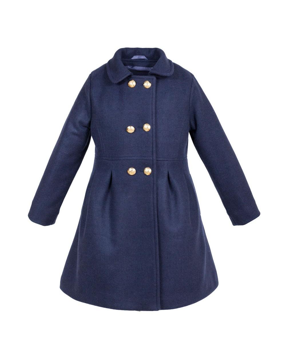 Płaszcz Agata granatowy